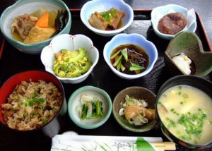 Healthy japanese diet