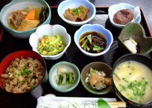 Healthy japanese diet